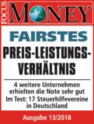 Fairstes Preis-Leistungs-Verhältnis - Aktuell Lohnsteuerhilfeverein e.V.