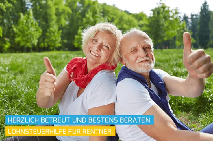Lohnsteuerhilfe Rentner hilft Rentnern bei der Steuererklärung.