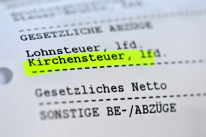Steuerlexikon: Kirchensteuer