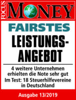 Fairstes Leistungsangebot - Aktuell Lohnsteuerhilfeverein e.V.