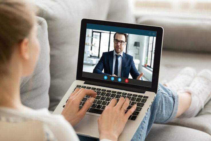 Steuerberatung online - Beratung per Video Call