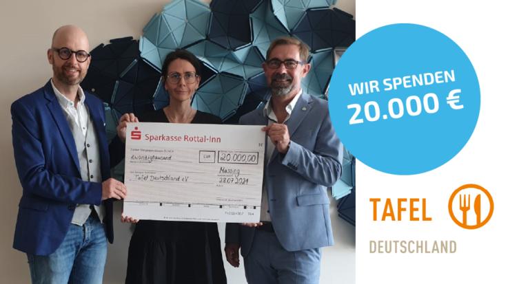 Spendenaktion für die Tafel Deutschland