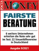 Fairste Beratung - Testergebnis Steuerhilfeverein