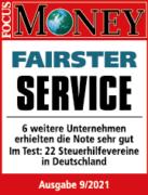 Fairster Service - Testergebnis Steuerhilfeverein