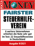 Fairster Steuerhilfeverein - Testergebnis